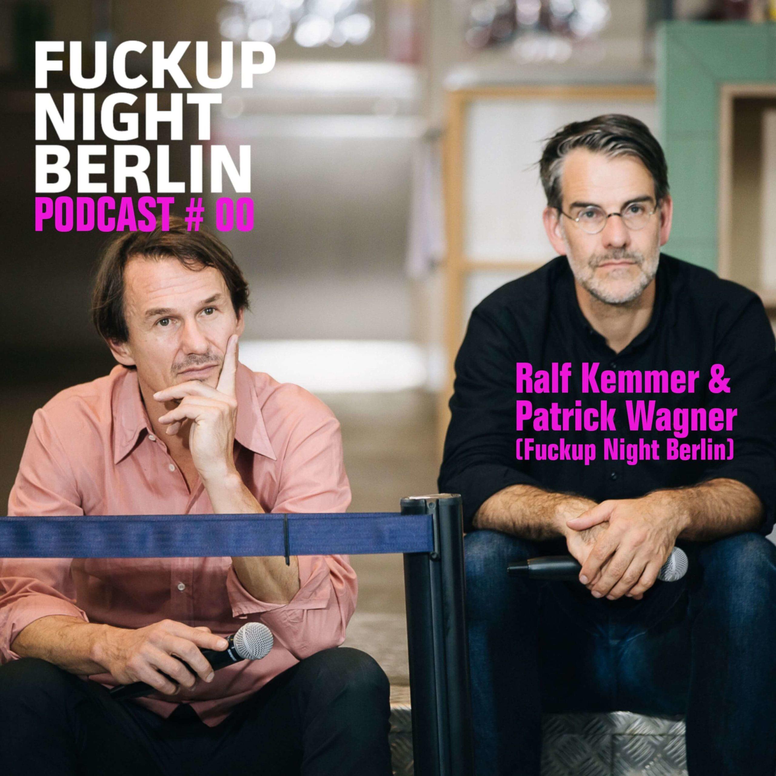 Fuckup Night Podcast. Geschichten vom Scheitern.
